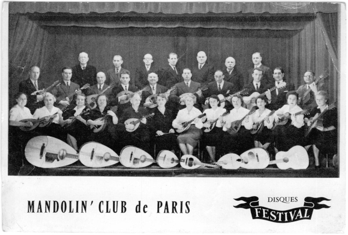 Mandolin' Club de Paris Disques Festival - Postcard