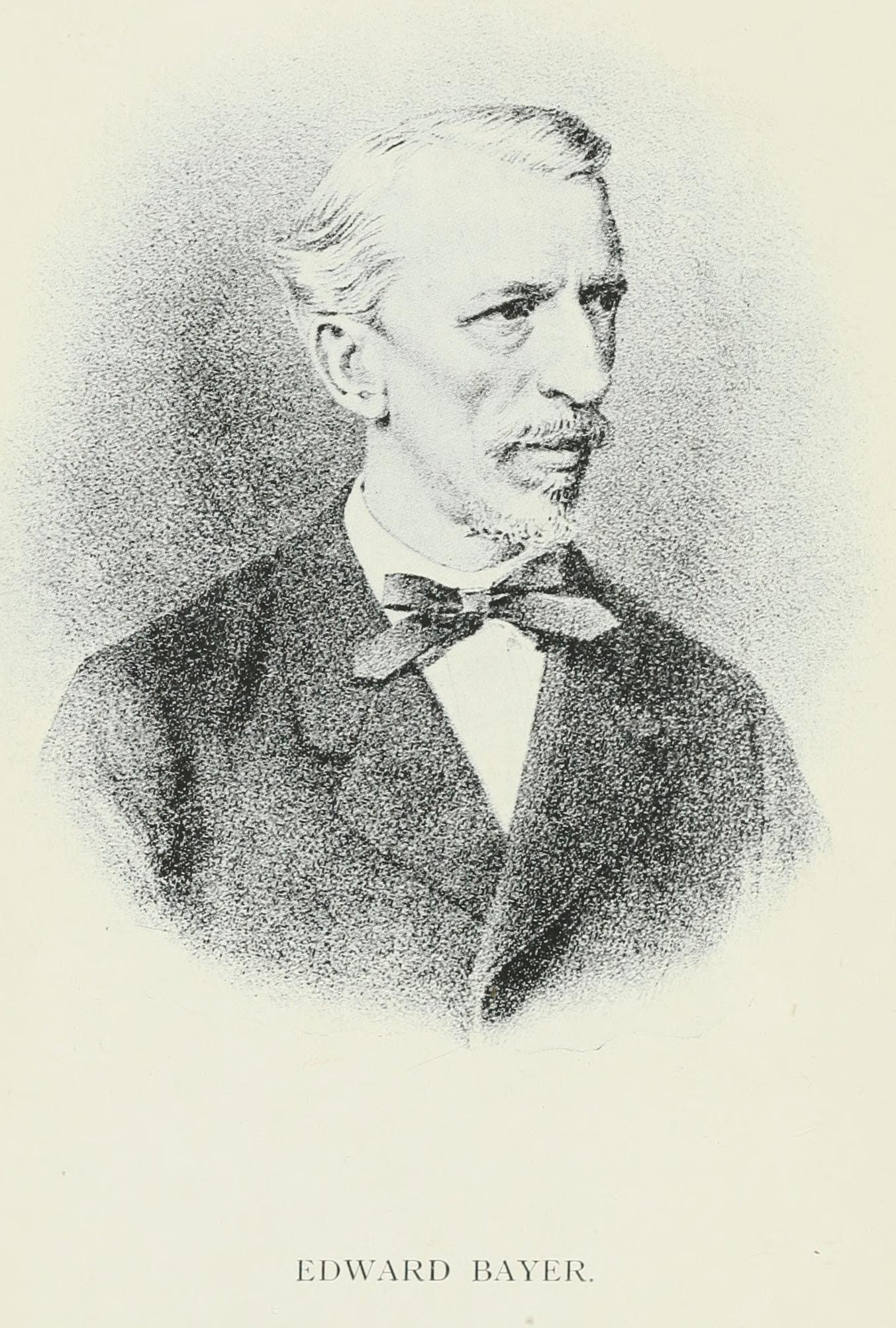 Portrait of Eduard Bayer