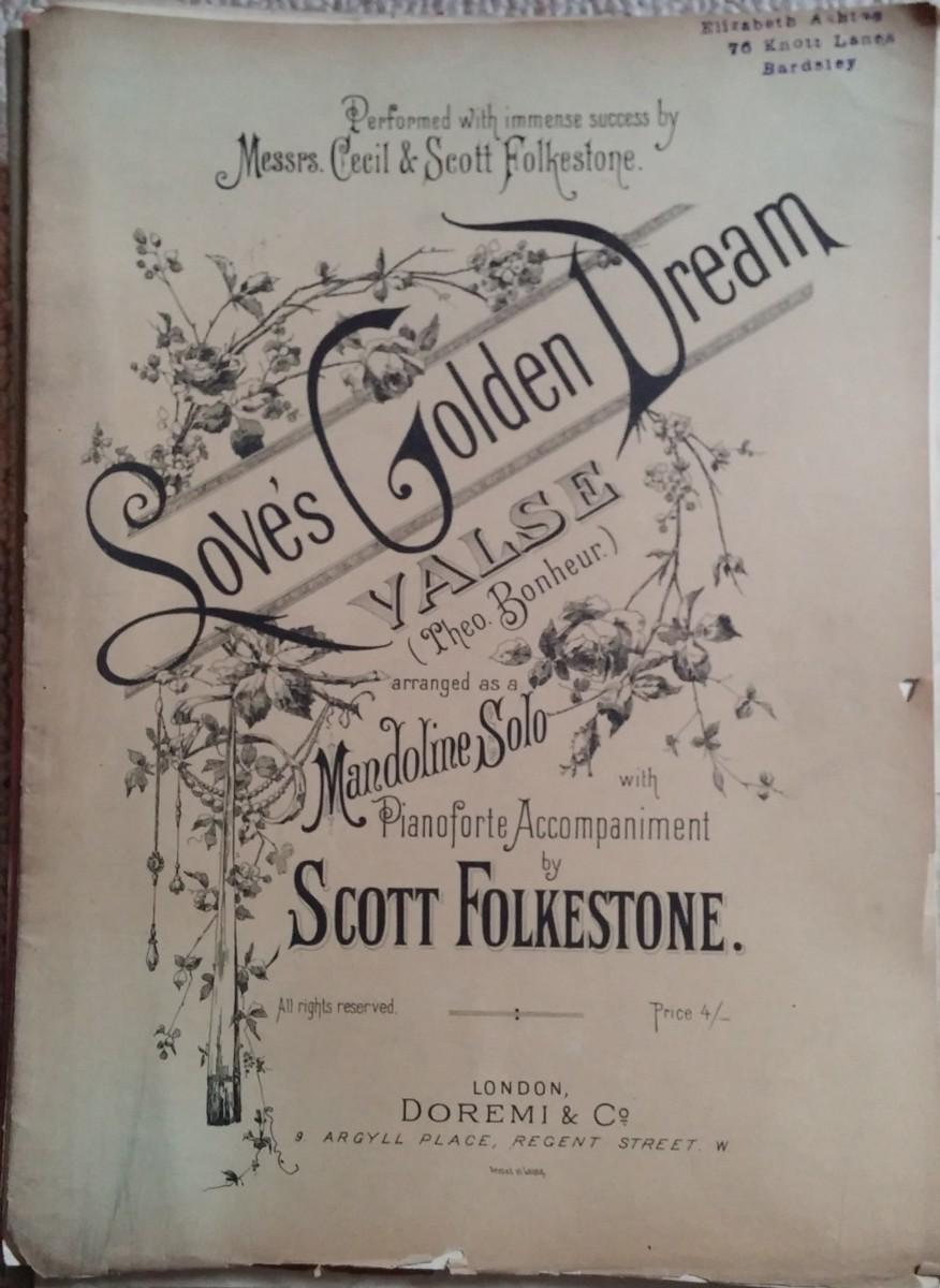 Love's Golden Dream Valse