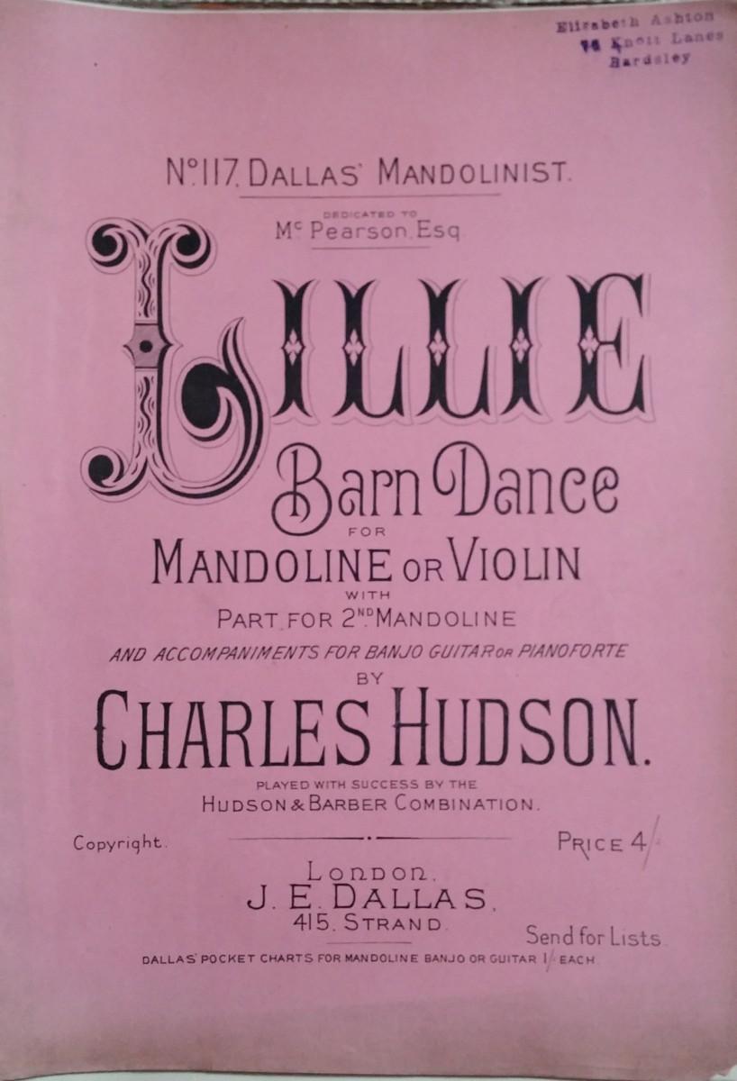 Lillie Barn Dance