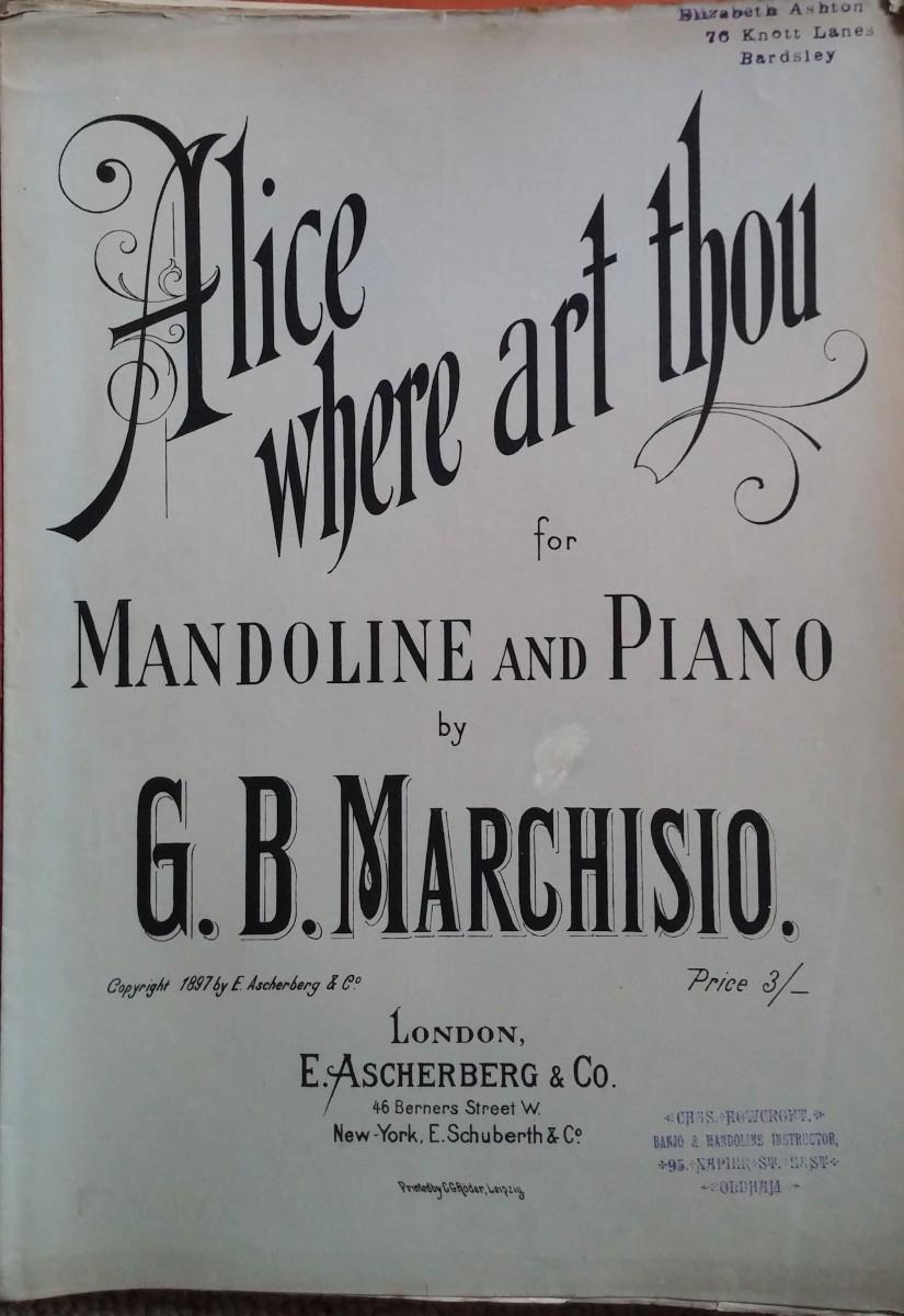 Alice where art thou