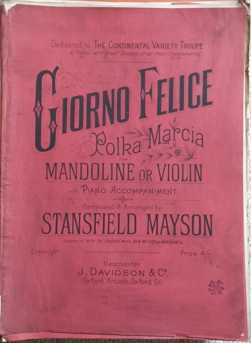 Giorno Felice Polka Marcia