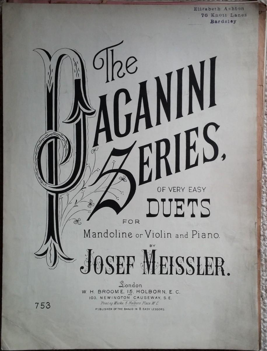 The Paganini Series