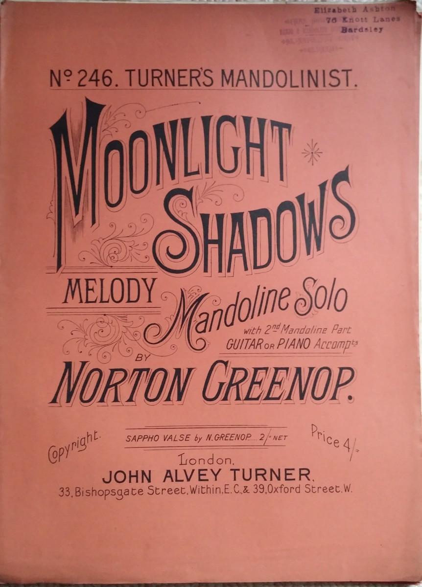 Moonlight Shadows Melody