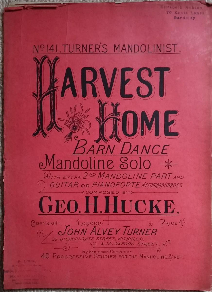 Harvest Home Barn Dance
