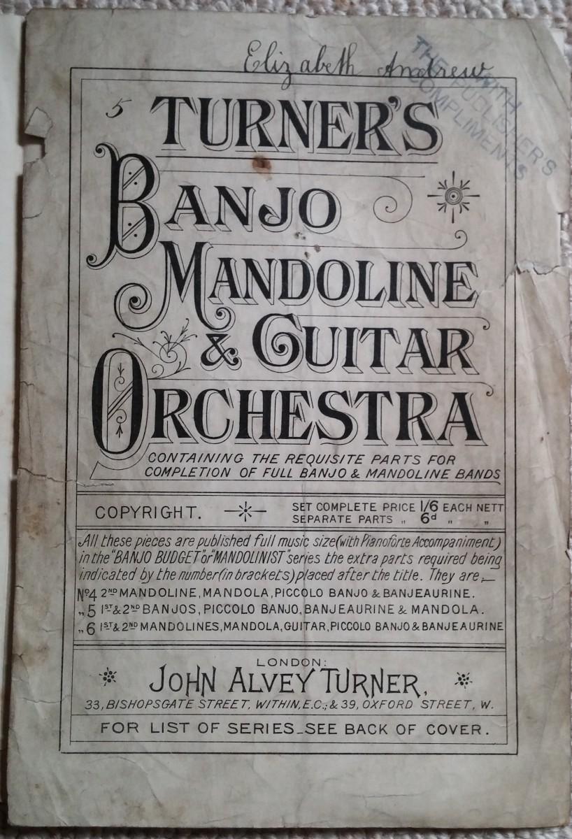 Turner's Banjo, Mandoline & Guitar Orchestra
