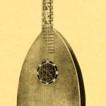 Mandora, Ital. work (Vinaccia ?) from the 18th century