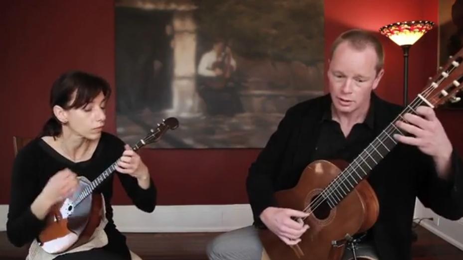 domra and classical guitar duo